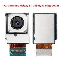 Камера заднего вида для samsung Galaxy S7 G930F модуль камеры гибкий кабель