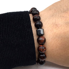 Bead Men Bracelet New Fashion Stone Beaded Charm Bracelet Men Classic Beads Bracelet For Men Jewelry Gifts
