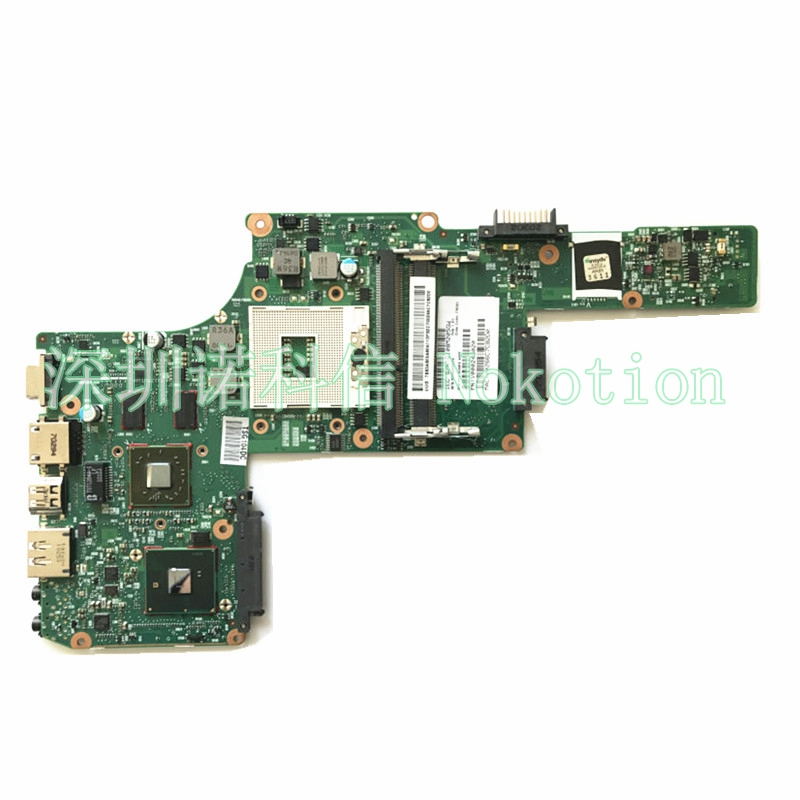 original Laptop Mainboard For Toshiba Satellite L630 Laptop s989 Motherboard V000245020 6050A2338501 with video chip  motherboard for toshiba satellite t130 mainboard a000061400 31bu3mb00b0 bu3 100% tsted good