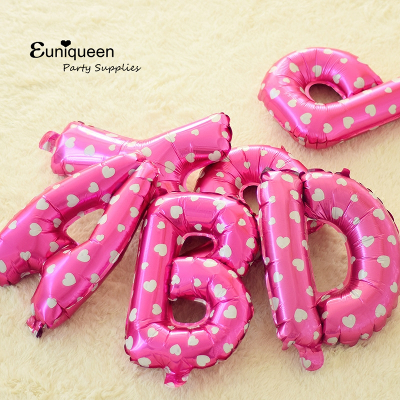 Pink Purple Birthday Kit Happy Birthday Letter Balloons Star Shape