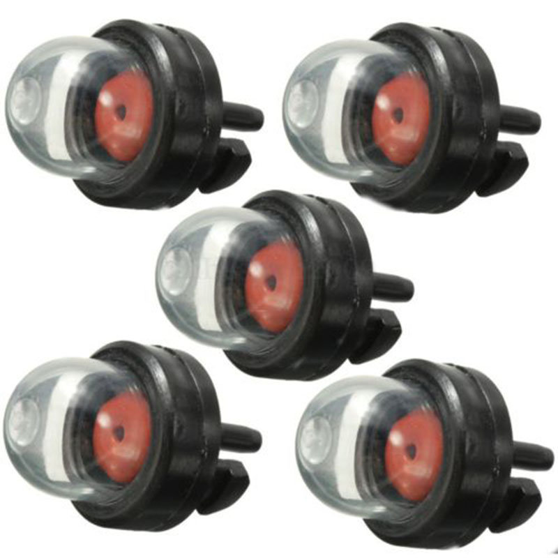 5pcs Petrol Snap in Primer Bulb Fuel Pump Bulbs for Chainsaws Blowers Trimmer Chainsaw Carburetor