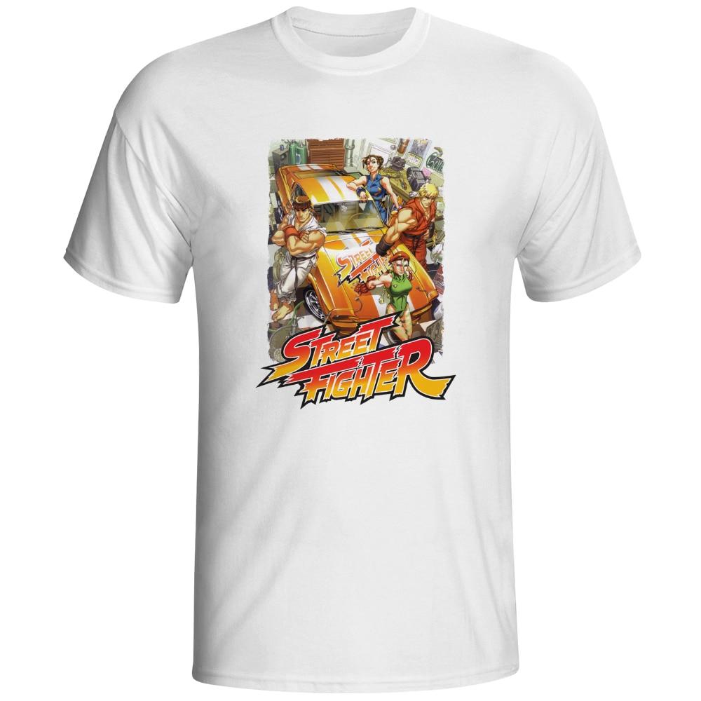 Design t shirt games online - We Love Car T Shirt Street Fighter Design Arcade Game Creative T Shirt Fashion Novelty