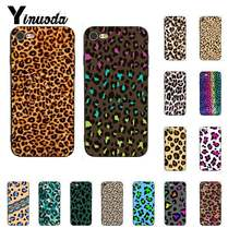 Yinuoda Fashion Tiger Gedrukt Leopard Panther Zwarte Telefoon Cover voor iPhoneX XSMAX 6 6S 7 7plus 8 8 plus 5 5S XR 11 11pro 11promax(China)