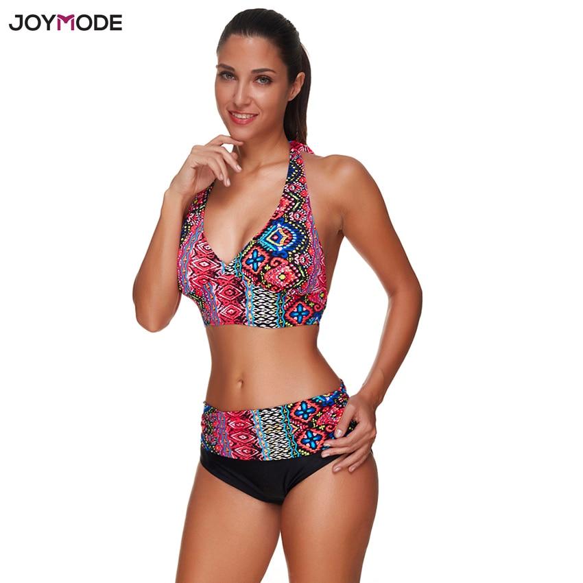JOYMODE Hot Women's Push Up Bikini Padded Swim Swim suit Crochet Beach Swim suit Sexy Bikini For Women strappy cross back crochet cover up swim dress