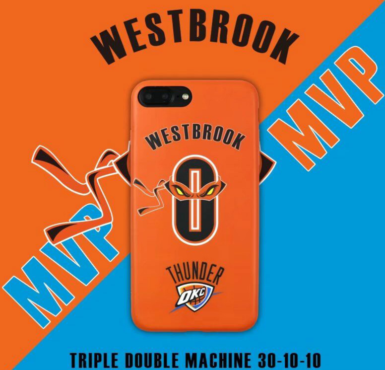NBA Basketball OKC MVP Russell Westbrook <font><b>0</b></font> <font><b>Cell</b></font> <font><b>Phone</b></font> Cases For iphone <font><b>6</b></font> 6s 6Plus 6sPlus 7 7Plus Ninja Turtles Men Case Cover