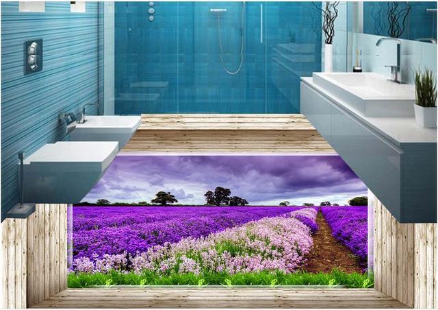 Custom luxe behang d vloeren mooie scenery d behang woonkamer