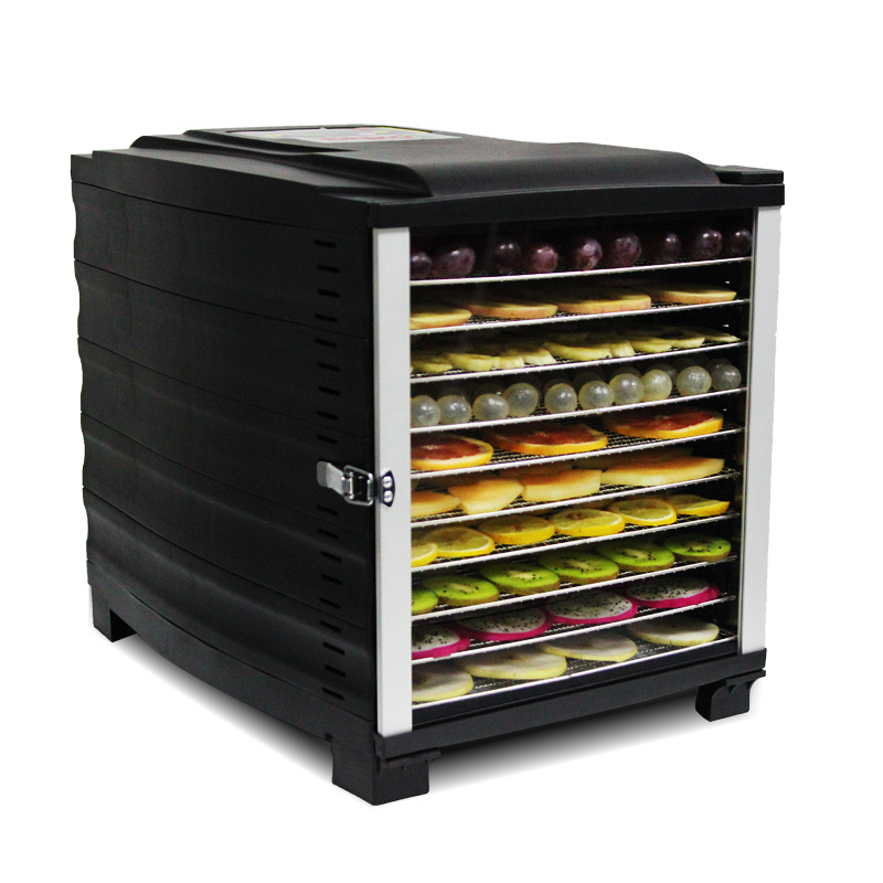 10 Layer Commercial Professional Stainless Steel Food Vegetables Pet Meat Safe Air Dryer Smart Electric Dehydrator
