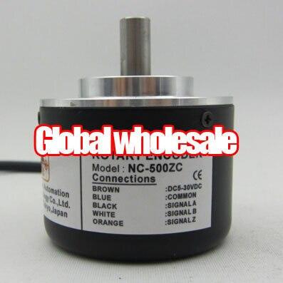 1 قطع NC 500ZC التشفير/الروتاري التشفير ل natec/500 خط حقن صب آلة التشفير/قطر 8 ملليمتر