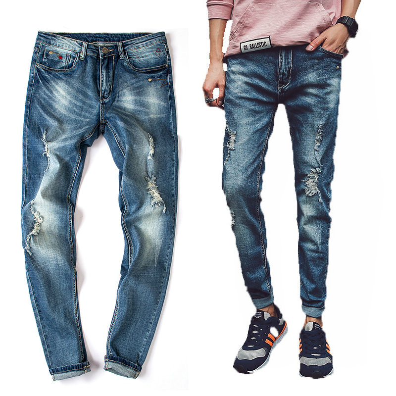 Popular Skinny Destroyed Jeans-Buy Cheap Skinny Destroyed Jeans ...