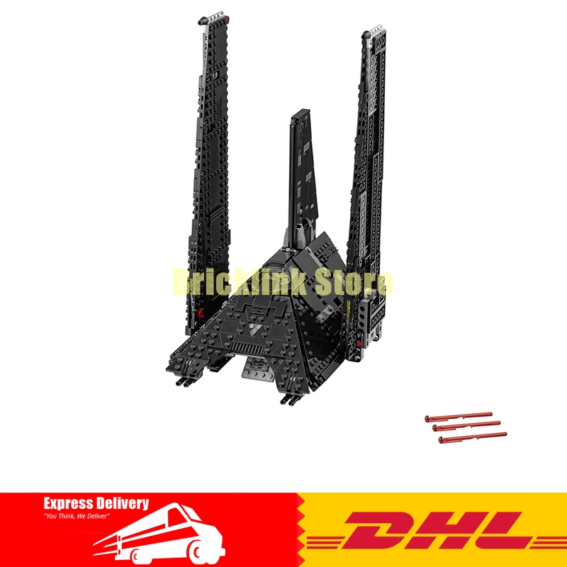 NEW LEPIN 05049 Star Classic Toys Wars 863pcs The shuttle Model Building blocks Bricks DIY toy Compatible 75156 to Boys Gift new 863pcs lepin 05049 star war series 75156 the imperial shuttle building blocks bricks toys compatible with lego gift kid set