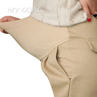 High Quality Maternity Belly Pants Causal Trousers For Pregnancy Wear Plus Size Summer And Spring Clothes