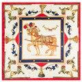 60 cm * 60 cm nuevo patrón de caballo de lady ocupación vestido de seda pequeño