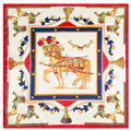 60cm*60cm new horse pattern lady occupation dress silk scarves small