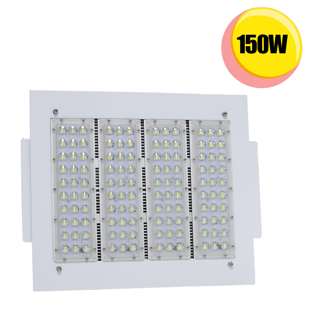 Explosion Proof 150W Canopy Lights Finned Radiator LED
