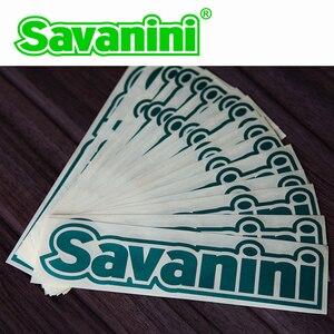 Image 2 - Savanini Logo 1 Pcs Nieuwe Stijl Auto Styling Stickers Persoonlijkheid Waterdichte Accessoires