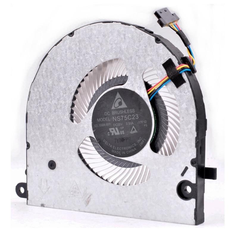 Original Delta NS85C00-17E04 5V 0.5A laptop built-in ultra-thin CPU cooling fan