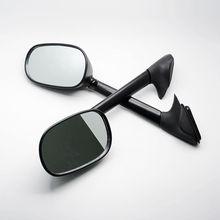 Черный мотоцикл зеркала зеркало заднего вида боковые зеркала для yamaha t-max 500 2008-2011