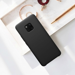 Image 5 - case for huawei mate 20 pro case Nillkin Soft smooth silicone phone protector shell for huawei mate 20 pro case cover 6.39 inch