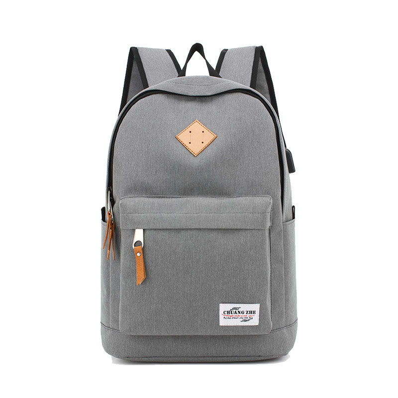 2017 NEW Fashion canvas School Backpack Women Men School bag Back Pack Leisure Korean Ladies Knapsack Laptop Travel Bags