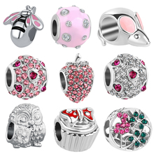neastamor Free Shipping 1pc Europe silver bee mouse Apple