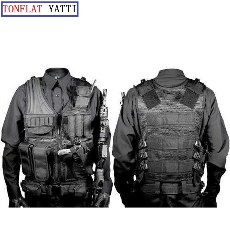 TACTICAL VEST TACTICAL ASSAULT RESPONSE COMMANDO USMC AIRSOFT PAINTBALL SWAT POLICE Hunting Hiking OUTDOOR SURVIVAL5 111Tactical