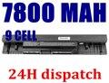 7800 mah 9 Celdas de batería Portátil 312-1021,5 9 YRYV, 9JJGJ, JKVC5 para DELL Inspiron 14,1464, 15,1564, 17,1764