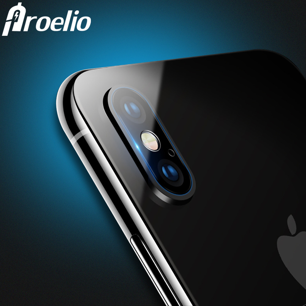 Phone Camera Lens Protective Protector Cover For iPhone X 10 iphone 8 8 plus iphone 7 plus iphone 6 6S Plus Tempered Glass Film