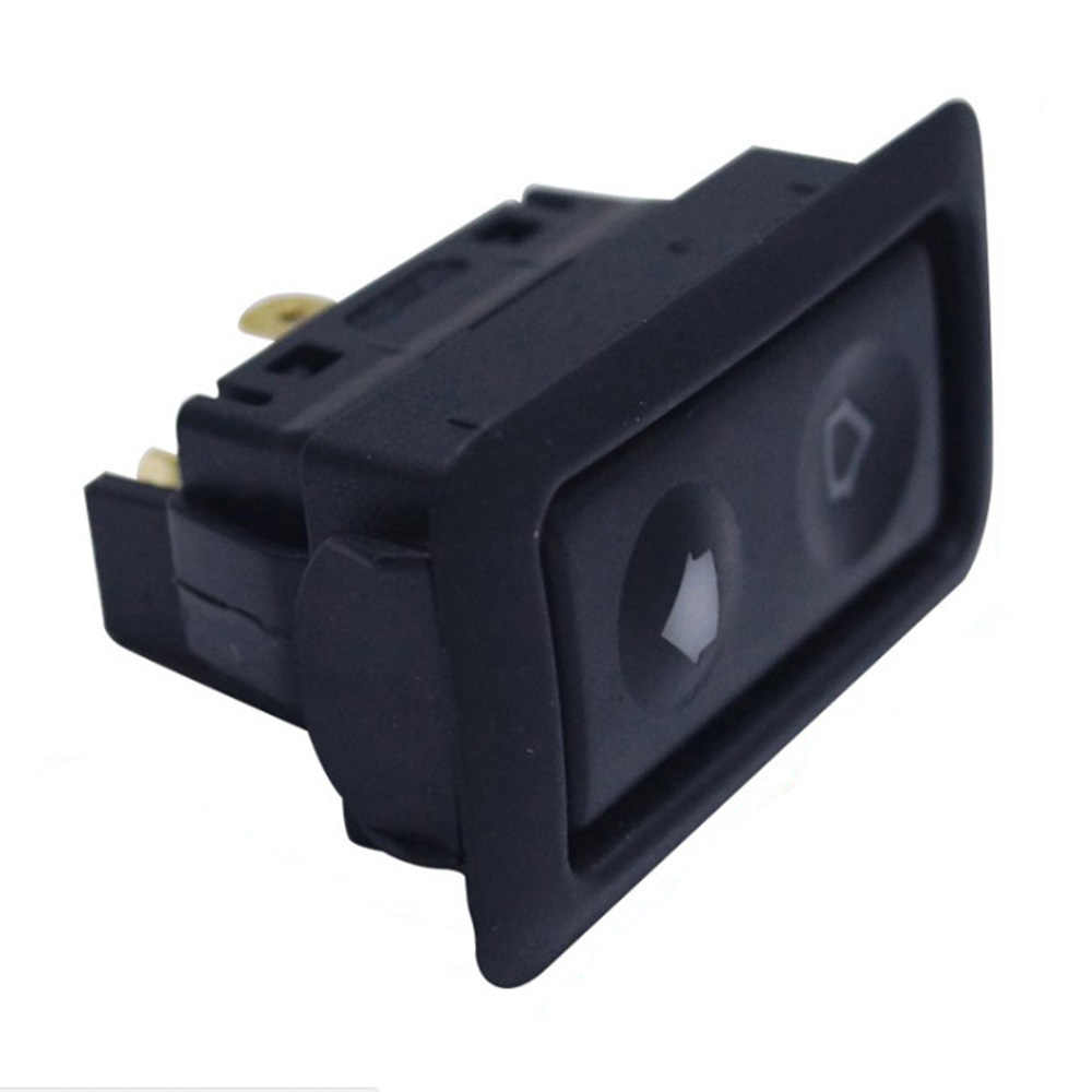 Universal 1pc 20A Electric Power Window Switch Button For All Autos with Green LED Light Car Button Switch 12V/24V Car Acessorie