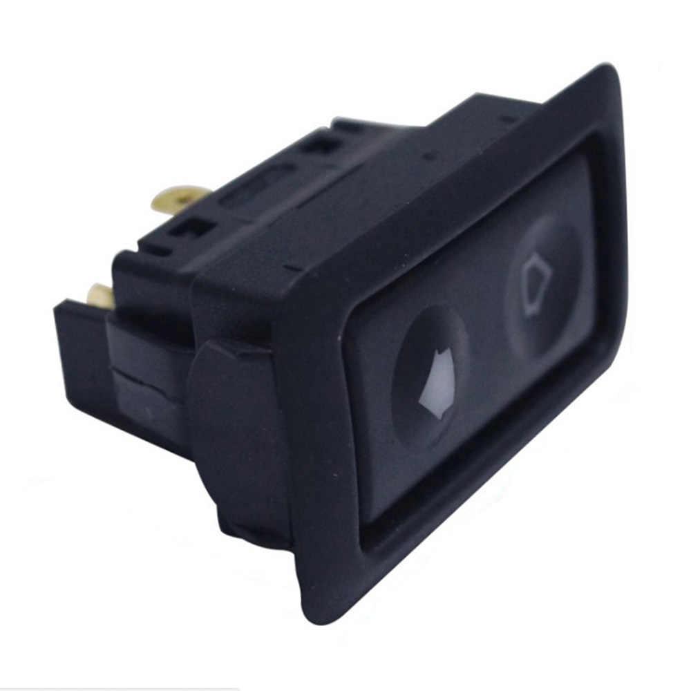 Universele 1pc 20A Electric Power Window Switch Knop Voor Alle Autos met Groene LED Licht Auto Knop Schakelaar 12 v/24 V Auto Acessorie