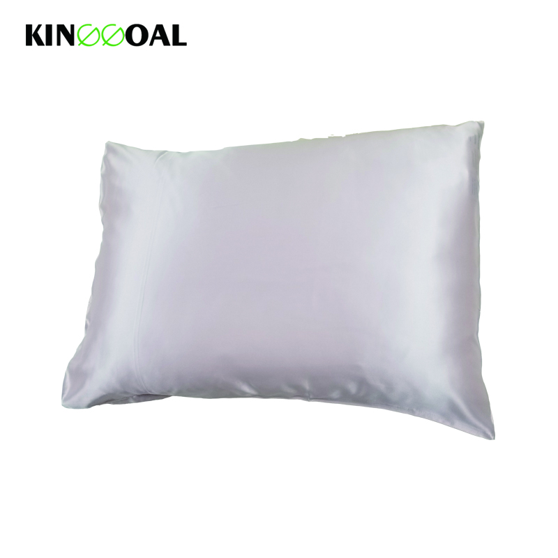 Free Shipping Light Pink 19 Momme Silk Pillowcases 100% Pure Natural Mulberry Silk Pillowcase for Hair & Facial Beauty Queen