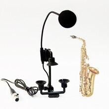 beta98H/C saxophone trumpet instrument mic 3.5mm 3 4 pin mini XLR condenser microphone for bodypack transmitter wireless system стоимость