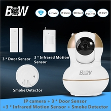 Video Surveillance font b Camera b font IP Wireless 3 font b Door b font Sensor