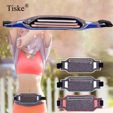 New Slim Waterproof Sport GYM Running Waist Belt Pack Cell Phone Case Bag 6.0 inch Armband For iPhone X 8 7 5 6 6s 7 Plus Holder waterproof pvc bag case w strap armband for cell phone more transparent light blue