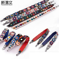 65/92cm Strapper you Rivet Handbags Belts Women bags Strap Women bag accessory bags parts Cow leather monster bag belts JD36#