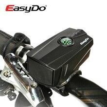 EASYDO Компас Велоспорт электронные рога колокол 140db велосипед руль кольцо Белл Рог громкий воздуха набат безопасный МТБ звук велосипед Рог