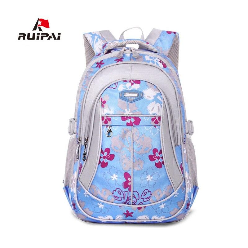 RUIPAI School Backpack Schoolbag For Children Girls and Boys School Bags Classic Backpack Schoolbag Backpacks Kids
