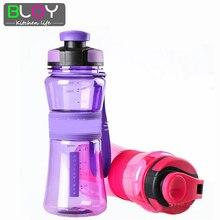 Tragbare kreative sport wasserflasche kunststoff brüheinheit lemon soda raum tasse auslaufsichere dichtung mein wasser flaschen 550 ml