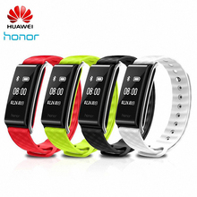 Original Huawei Honor A2 Smart Bracelet Wristband with Heart Rate Monitoring 0.96″ PMOLED Screen Waterproof For Android/IOS