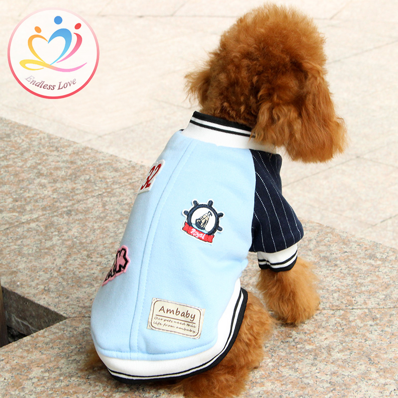 New Arrival Winter two colors Pets coats for pet Dog Clothes sport style classy Vestido dogs clothing Pet dogs Jacket Sport Suit