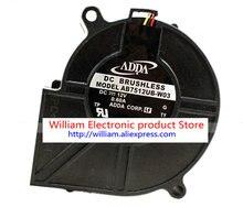 New Original ADDA AB7512UB-W03 75*30MM DC12V 0.6A Projector Blower Cooling fan