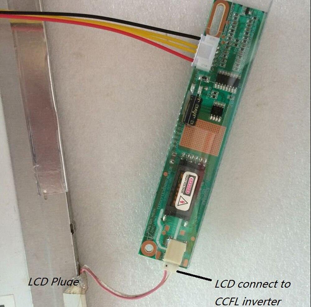 LCD Driver controller Board Converter Diy Kit for LP171WP4 TL B3 HDMI+DVI+VGA