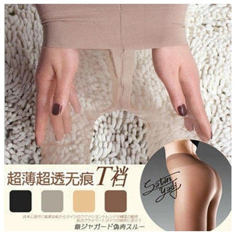 W778 2017 T Crotch Sexy Full Foot Womens Long Stockings thin Semi Sheer Tights Pantyhose Panties free ship 4 colors