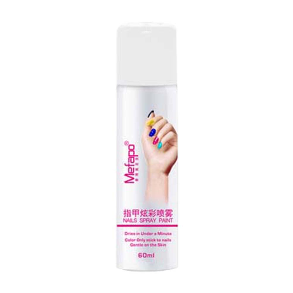 Estilos pro perfecto 60 ml Esmaltes de uñas aerosol fácil lavado aerosol barniz de uñas secado rápido nagellak