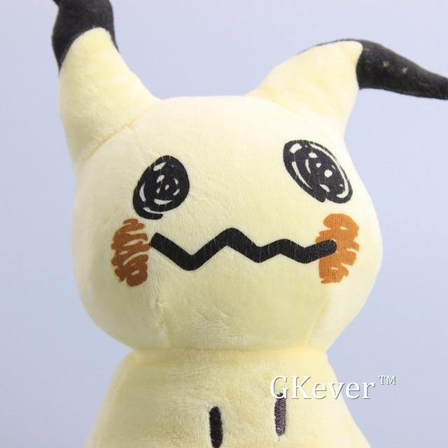 """Alta qualidade 10 pçs/lote sun & moon bonito mimikyu pikachu macio recheado bonecas brinquedo de pelúcia crianças presente 10 """"25 cm"""