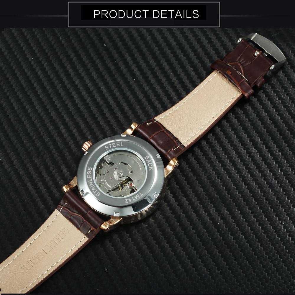 GANADOR Hombres de lujo Reloj Automático Retro Hombre Reloj de - Relojes para hombres - foto 5