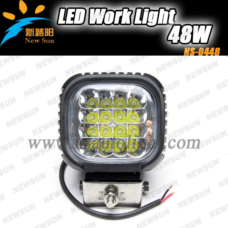 48W Spot beam light led working lamp cree chips led lamp 48w led work light for auto work light with CE ROHS IP68 certificate fp75r12kt4 fp75r12kt4 b15 fp100r12kt4 fp75r12kt3 spot quality