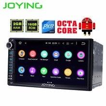 "Newest JOYING 2GB RAM 2Din HD 7"" Android 6.0 Universal Car Radio Audio 8 core android auto Stereo GPS Autoradio support Carplay"