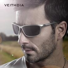 Veithdia Polarizadas gafas de Sol de Diseñador Hombres de la Marca De Aluminio Para Adultos gafas de Sol Para los hombres gafas de sol masculino V09