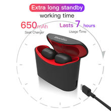 Wireless Earbuds 5D Stereo Bluetooth 5.0 Earphone Mini TWS True Waterproof Headfrees with Charging Box Wireless Headset Earphone tws earbuds true mini wireless earphone bluetooth headphone with charging box as powerbank noise cancel headset airpods style