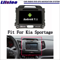 Liislee Android 7.1 2G RAM For Kia Sportage 2010~2015 Car Radio Audio Video Multimedia DVD Player WIFI DVR GPS Navi Navigation
